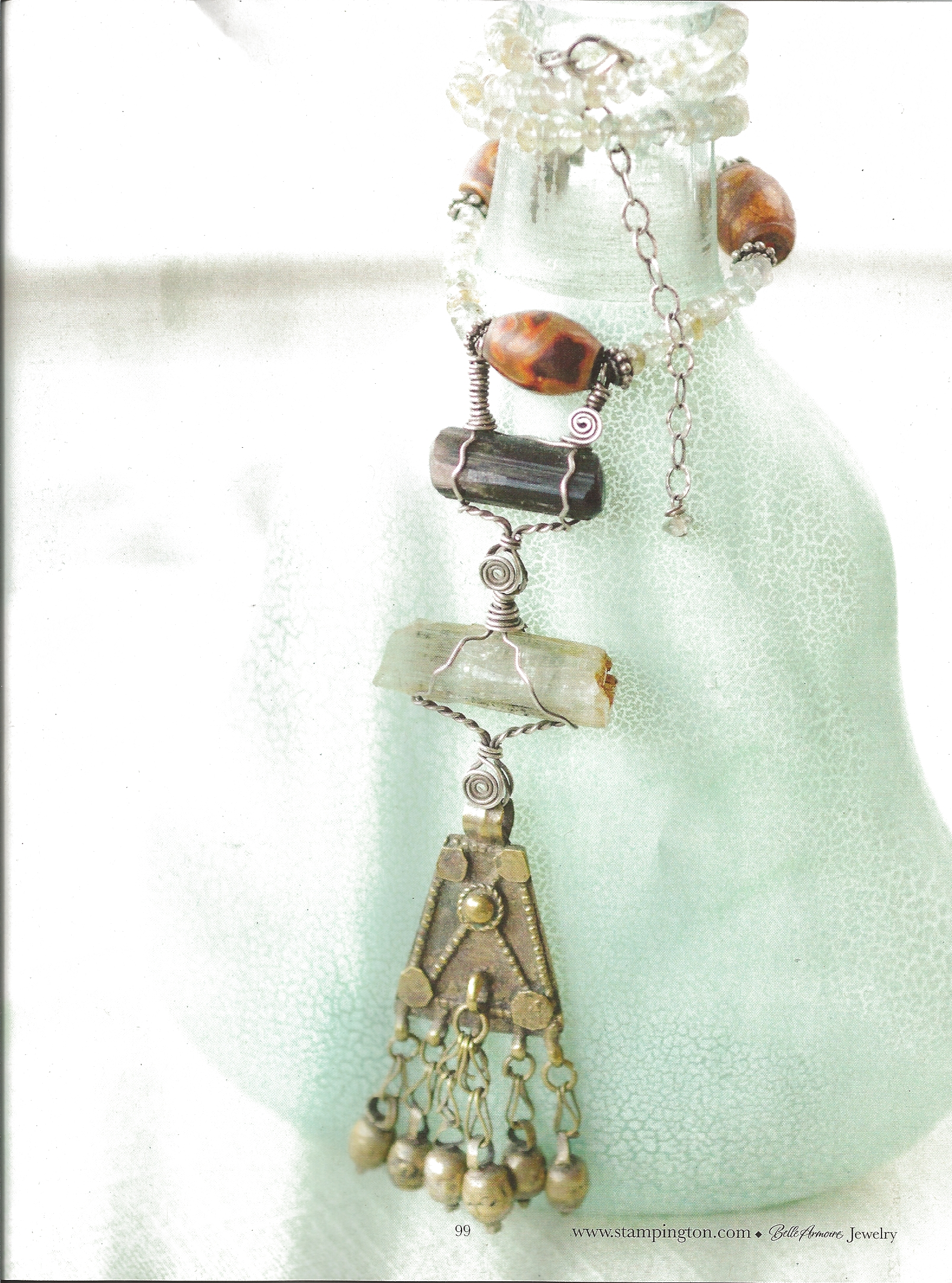 Belle amoire jewelry summer issue 2012 silvia peluso 39 s for Belle armoire jewelry magazine subscription