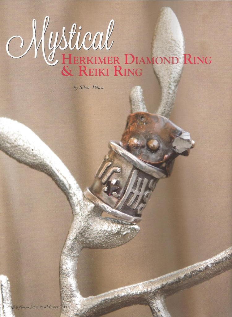 Mystical Herkimer Diamond & Reili Ring