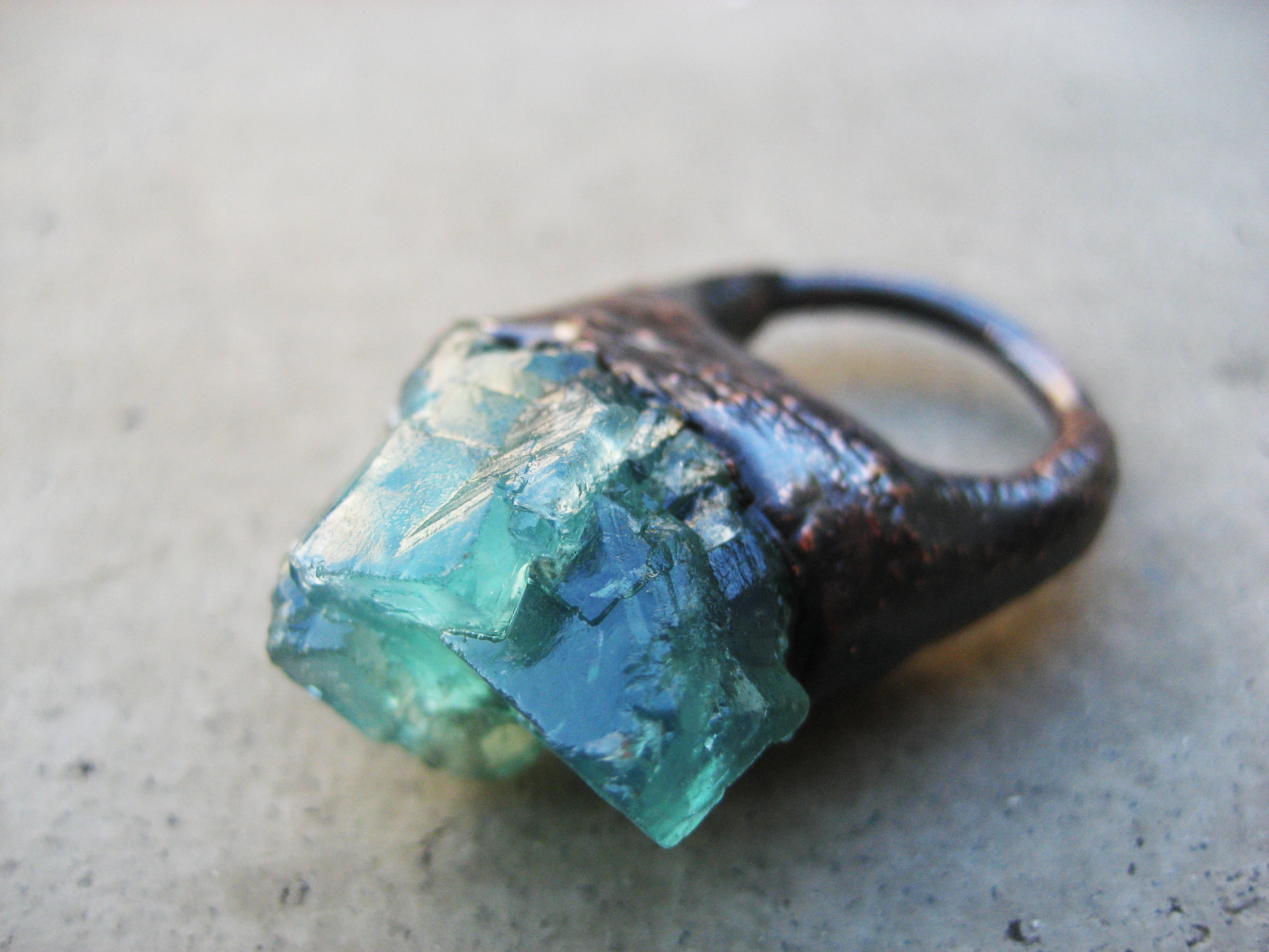 products by ring large dream and make fluorite jewel rings lotus wilde on