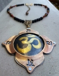 Root Chakra Necklace with Lava Beads