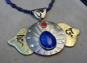 Brow Chakra Necklace