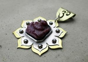 Ganesha Pendant by Silvia Peluso