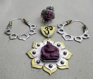 Ganesha Lotus Set by Silvia Peluso