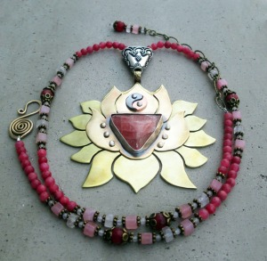 Lotus Blossom Rhodocrosite Pam 4