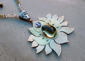 Crown Chakra with Smoky Citrine by Silvia Peluso