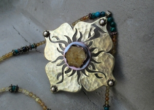 Solar Pelxus Chakra Necklace by Silvia Peluso