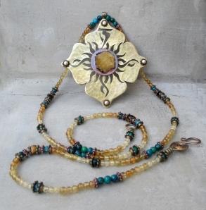 Solar Plexus Chakra Necklace by Silvia Peluso