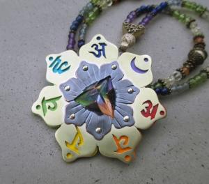 7 Chakra Necklace by Silvia Peluso