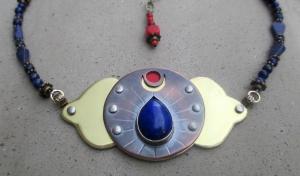 Third Eye Chakra Necklace by Silvia Peluso