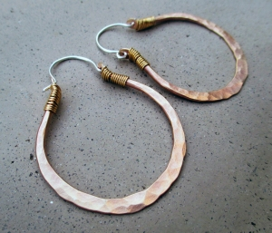 Big Oval Hoops by Silvia Peluso