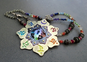 7 Chakra Necklace by Silvia Peluso