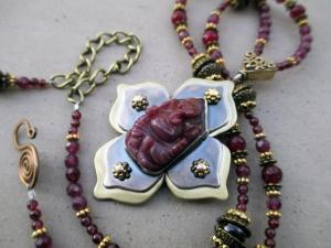 Ganesha Necklace by Silvia Peluso