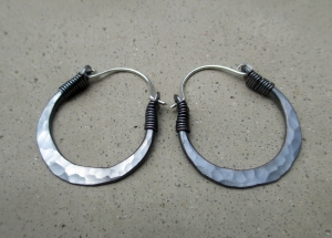 Tribal Hoops by Silvia Peluso