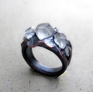 Mystic Tibetan Q Ring by Silvia Peluso