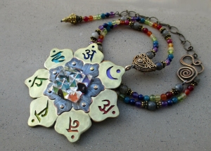 Seven Chakra Necklace Carolyn 2