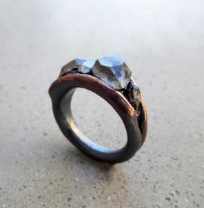Tibetan Quatrz Ring by Silvia Peluso