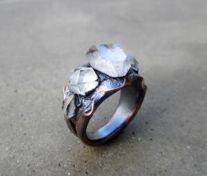 Mystical Tibetan Quartz Ring by Silvia Peluso