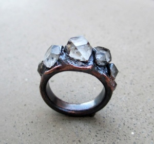 Tibetan Quartz Ring by Silvia Peluso