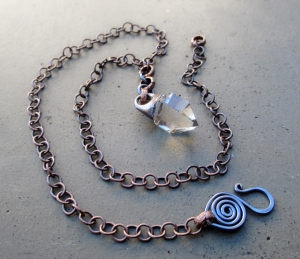Tibetan Quartz Necklace by Silvia Peluso