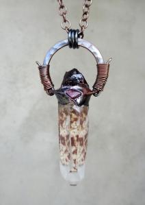 Wild Cat Pendant by Silvia Peluso