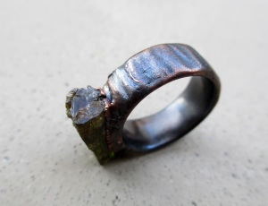 Green Tourmaline Ring 1