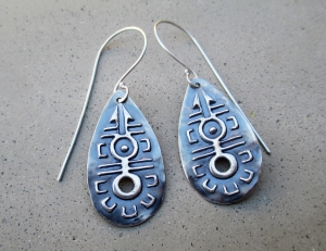 Moonlight Dance Earrings by Silvia Peluso