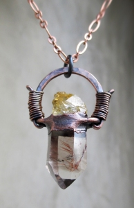 Rutilated Quartz Rough Citrine by Silvia Peluso