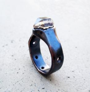 Tibetan Quartz Ring by Silvia Peluso