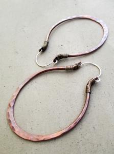 Big Oval Hoops by Silvia Peluso