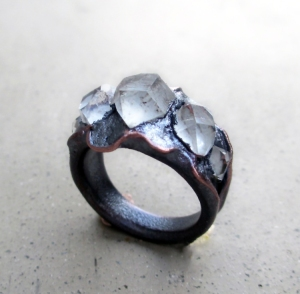 Mystic Tibetan Quartz Ring by Silvia Peluso