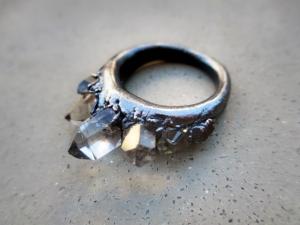 Seven Tibetan Ring by Silvia Peluso