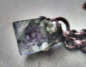 Chakra Choker wtih Fluorite by Silvia Peluso