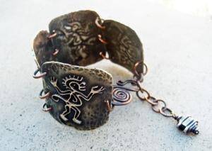 Monkey Bracelet by Silvia Peluso