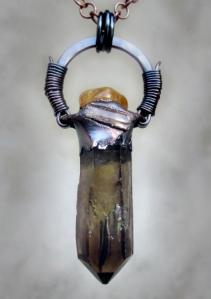 Smoky Citrine Imperial Topaz by Silvia Peluso