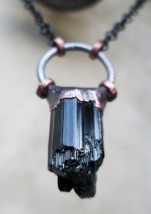Black Tourmaline Big Pendant 9