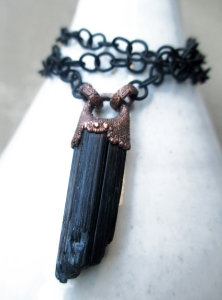Black Tourmaline Pendant 5