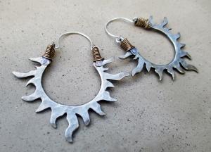 Sun Hoops Silver 2